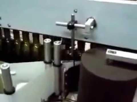 Front and Back Bottle Labeler Machine for Shampoo, Olive Oil, Hair oil bottle
