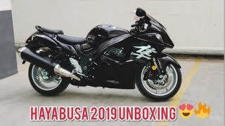 4. Suzuki Hayabusa 2019 Unboxing and Delivery (BLACK)