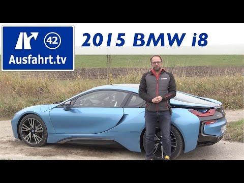 BMW i8 - Fahrbericht der Probefahrt, Test, Review ( ...