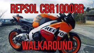 4. 2011 CBR1000RR Repsol Walkaround Fireblade