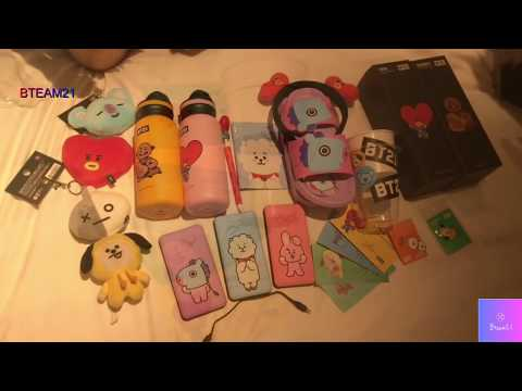[UNBOXING BT21] [ENGSUB CC] BT21 HAUL PART 3