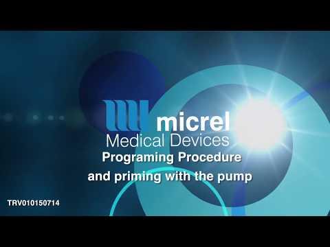 4 programing and priming - Hướng dẫn sử dụng bơm tiêm giảm đau Rythmic Micrel