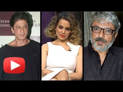 Shahrukh Khan REJECTS Kangana Ranaut For Sanjay Le