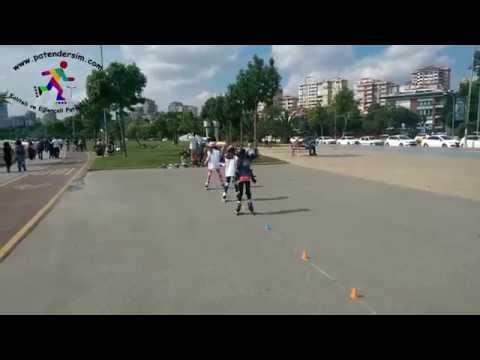 Tekerlekli paten dersi tanıtım