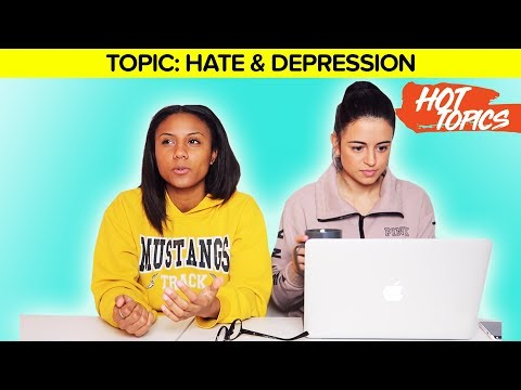 OUR ADVICE ON HATE & DEPRESSION