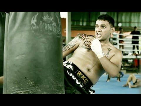 Indian Martial Artist Vivek teja || MMA & Muaythai Training Reel || Thailand