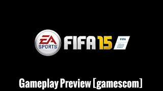 FIFA 15 Ultimate Team Gameplay Preview (gamescom 2014)
