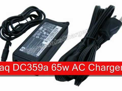 , title : 'Replacement Hewlett PackardCompaq DC359a 65w AC Charger'