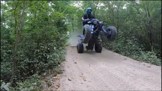 8. Yamaha Raptor 700r - Out riding before it gets crazy hott