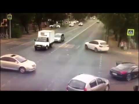 Неадекват на Порше в Краснодаре