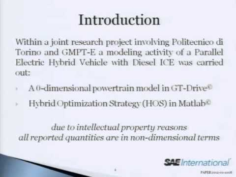 Analysis of Various Operating Strategies for a Parallel-Hybrid Diesel Powertrain with a Belt Alternator Starter