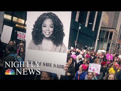 Is Oprah Running In 2020?   NBC Nightly News