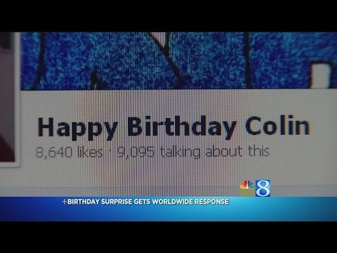 Give 10 Year Old Colin a LIKE for his birthday!