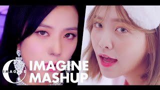 Video BLACKPINK/RED VELVET - DDU DU DDU DU/BAD BOY MASHUP [BY IMAGINECLIPSE] MP3, 3GP, MP4, WEBM, AVI, FLV November 2018