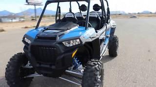 6. 2018 Polaris RZR-4 Turbo Velocity Blue