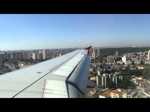 TAM A319 Super Ponte | Pouso em Congonhas