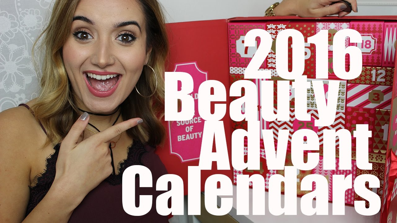 Beauty Advent Calendars 2016 | A Little Obsessed