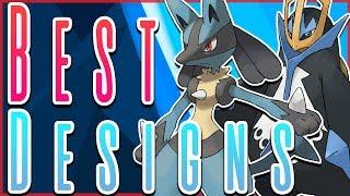 Top 10 BEST Pokémon Designs by HoopsandHipHop