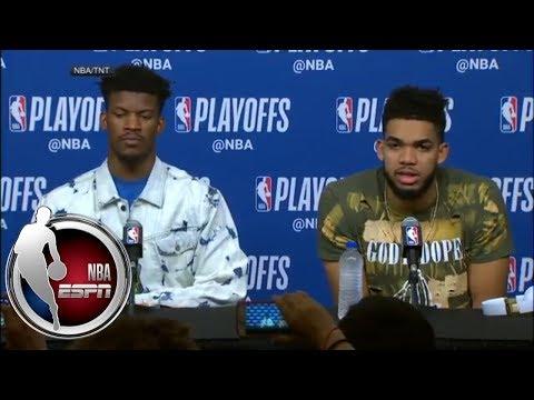 [FULL] Jimmy Butler says he has to defend James Harden better   NBA on ESPN