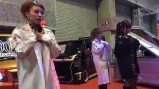 大阪オートメッセ2015 翔プロデュース キャンギャル ダンス翔Time フルバージョン