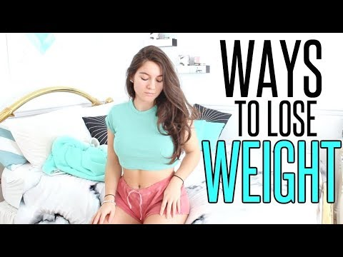 How To Lose Weight FAST for TEENAGERS ! LAZY FITNESS HACKS (видео)