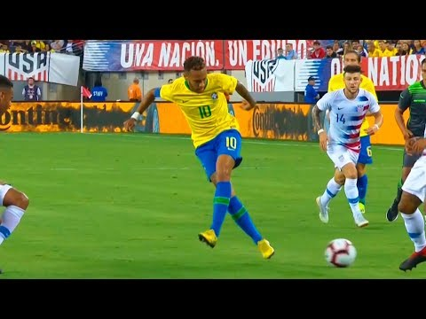 Neymar vs USA (Away) HD 720p (07/09/2018)