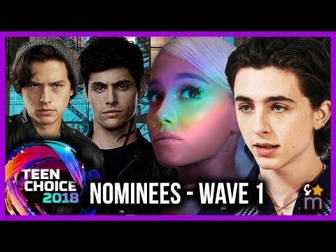 2018 Teen Choice Award Nominees - Wave 1: Infinity War, Shadowhunters, Riverdale & More