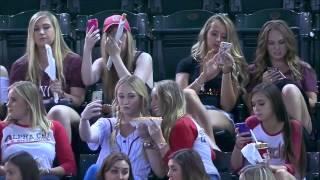 Co robią laski na meczu bejsbolowym?
