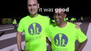 The 2017 Heathrow Midnight Marathon raised over £50,000 for Oxfam, Help for Heroes, Heathrow Community Fund and Hillingdon Autistic Care and Support.350 runners took part with 55 volunteers helping make the event possible. Want to hear more?Follow us on Twitter @HeathrowAirport: https://twitter.com/HeathrowAirportFollow us on Instagram @Heathrow_Airport: https://www.instagram.com/heathrow_airport/Like us on Facebook: https://www.facebook.com/HeathrowAirport/