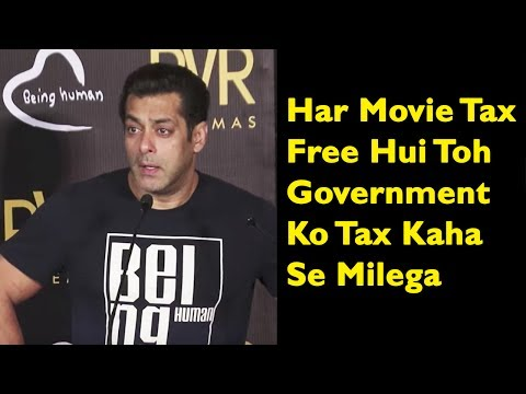 Salman Khan Takes A Dig At Government When Asked A