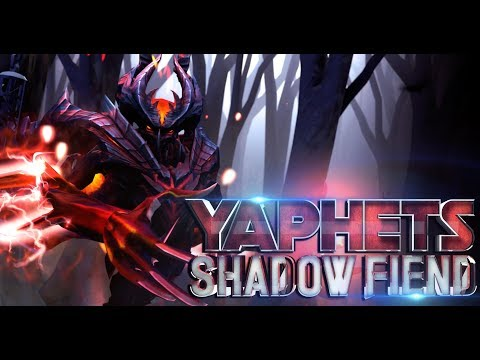REASON WHY WE LOVE YAPHETS SHADOW FIEND DOTA 2