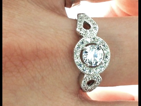 $11.99 Brilliant CZ Ring, Online Jewellery Websites