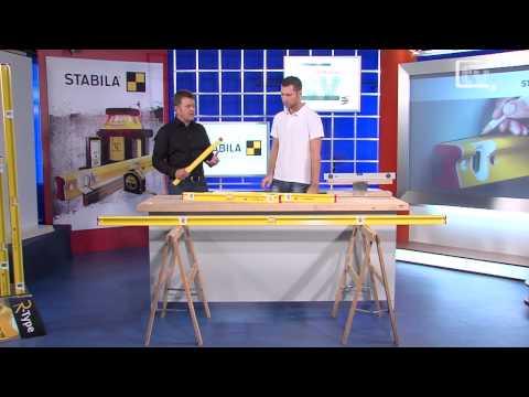 WERKZEUG TV #10 Wasserwaage - STABILA