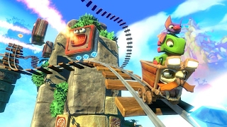 8 Minutes of Yooka-Laylee Gameplay by IGN