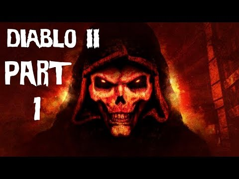 Diablo 2 - Part 1 - Mike Matei live stream (видео)