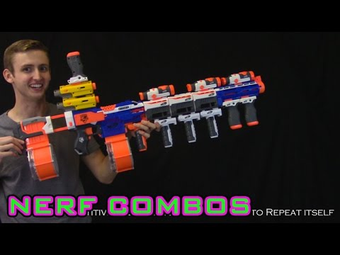 NERF COMBOS | STRYFE