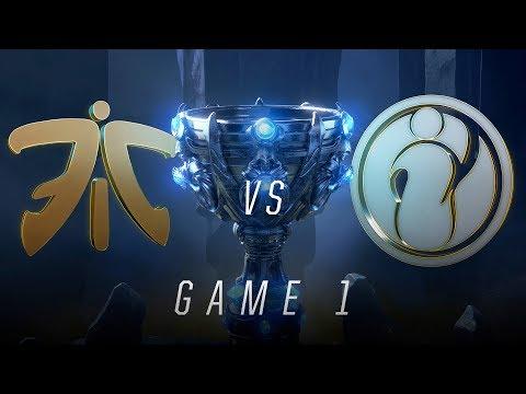 FNC vs IG | Finals Game 1 | World Championship | Fnatic vs Invictus Gaming (2018)