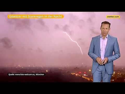 Вие вирд дас Веттер Дие актаелле веттер.ком 3-Тагес Ворхерсаге (16.08.2017)