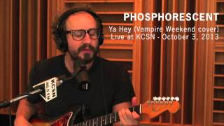 "Phosphorescent - ""Ya Hey (Vampire Weekend cover)"" (Live at KCSN - October 3, 2013) - YouTube"