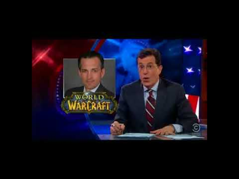 The Colbert Report - Anonymous is a Hornet's Nest