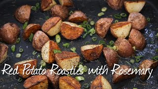 How to Make Roasted Red Potatoes with Rosemary