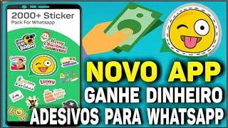 Baixar whatsapp - Ganhe Dinheiro Com Adesivos (Stickers) Para WhatsApp