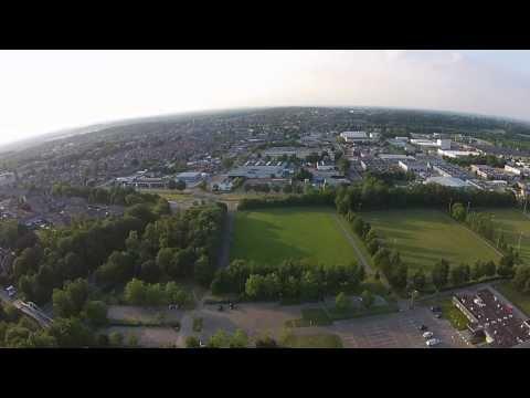 Testvlucht drone Landgraaf - compilatie 24-06-15