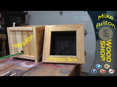 Hide-a-Hose Planter Box