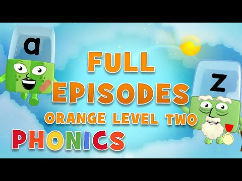 Alphablocks - Orange Level Two | Full Episodes 10-12 | #HomeSchooling | Learn to Read #WithMe