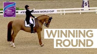 Superb score of 88,2% for Cathrine Dufour in Gothenburg | FEI World Cup™ Dressage