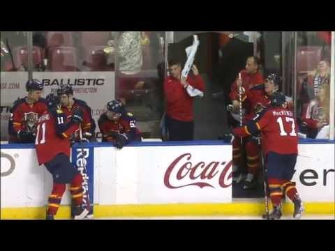 Gotta See It: Both Panthers goalies injured, coach ready to play