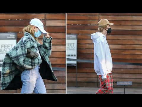 Justin Bieber And Hailey Baldwin Step Out Of Hiding To Go Christmas Shopping