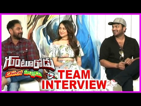 Manchu Manoj And Pragya Jaiswal Latest Interview About Gunturodu Movie | SK Satya