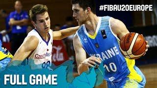 Watch Czech Republic v Ukraine at the FIBA U20 European Championship 2017. ▻▻ Subscribe: http://fiba.com/subYT Click here for more: ...